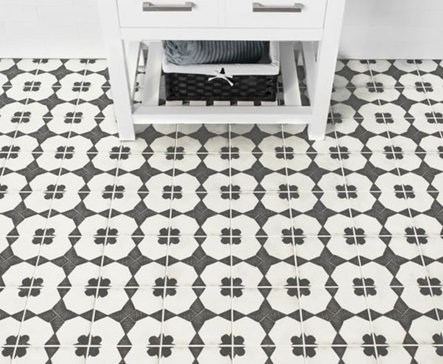 Examples Of Statement Tiles In The Home Lighting And Design - Cement tile maintenance